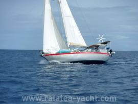 Brise de mer 38 - Raiatea Yacht Broker