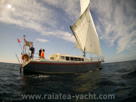 Ezcurra 13.50 croiseur alu one-off - Raiatea Yacht Broker
