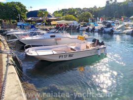 Polyform 17.5 REEF FULL • VENTE EN COURS - Raiatea Yacht Broker