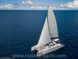 Punch 1250 -VENDU - SOLD - Raiatea Yacht Broker