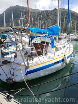 Romanée 34 - Raiatea Yacht Broker