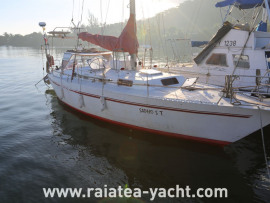 Trismus 37 alu - Raiatea Yacht Broker