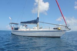 Sloop acier 40' - Raiatea Yacht Broker
