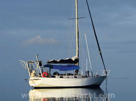 Alix sloop acier  - Raiatea Yacht Broker