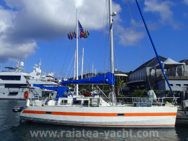 Chatam 40 alu - Raiatea Yacht Broker