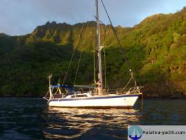 Dériveur Alu 40' - Raiatea Yacht Broker