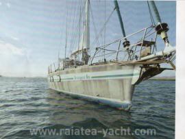 Deriveur Alu 54 - Raiatea Yacht Broker