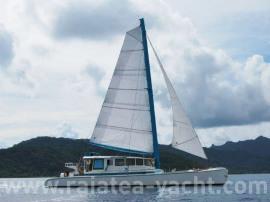 Catamaran concept Airex/Epoxy - Raiatea Yacht Broker