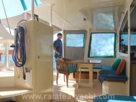 Catamaran concept Airex/Epoxy