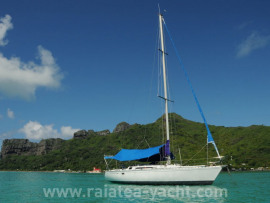 First 38 - Raiatea Yacht Broker