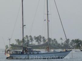 Ketch Eole Frans Maas - Raiatea Yacht Broker