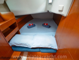 cabine arrière double tribord