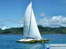 Trimaran Newick 48 Octopus - Raiatea Yacht Broker