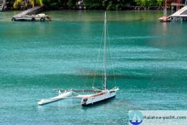 Pirogue type Va'a Motu - Raiatea Yacht Broker