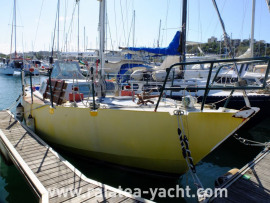 Voilier Acier Plan Caroff - Raiatea Yacht Broker