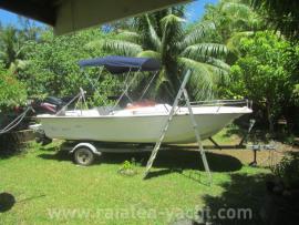 Polyform 17.5 REEF full option - Raiatea Yacht Broker