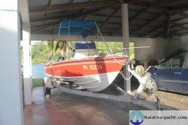 Raiatea Marine 18' - coque Champon - Raiatea Yacht Broker