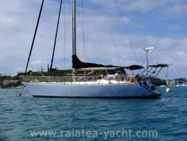 Sloop Acier 15m - Raiatea Yacht Broker