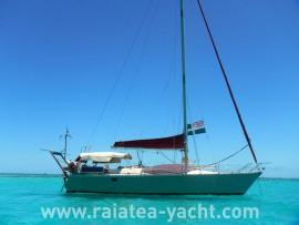 Sun Fizz 40 - Raiatea Yacht Broker