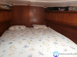 Sun Odyssey 49 cabine avant