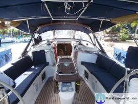 Sun Odyssey 49 cockpit
