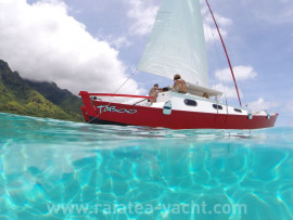 Wharram Tiki 30' + activité / and business