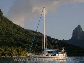 trisbal 36 - Raiatea Yacht Broker