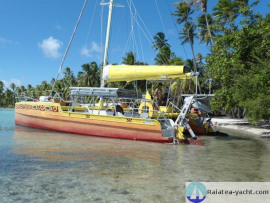 Catamaran Alu - Raiatea Yacht Broker